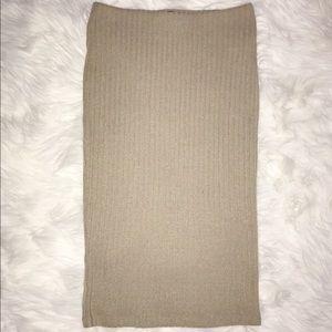 Dresses & Skirts - Knitted Midi Skirt